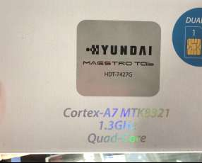 Tablet Hyundai a chip nuevo