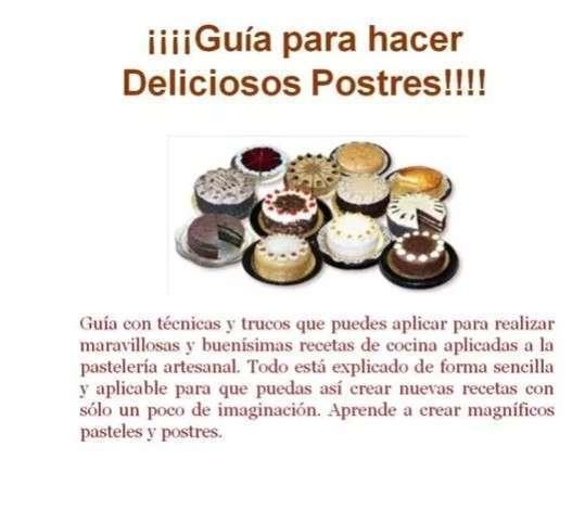 Guía Digital Curso De Reposteria Basica, Tortas, Cupcakes - 2