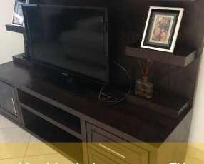 Mueble TV de madera para living