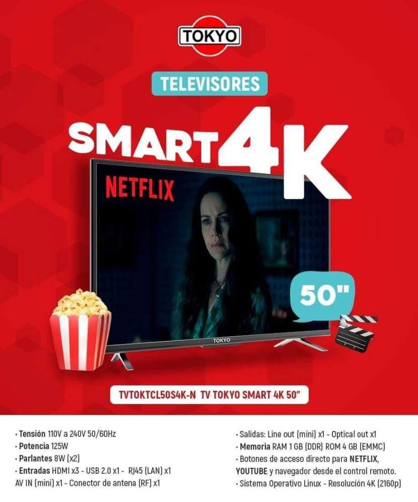 TV Smart 4K de 50 pulgadas