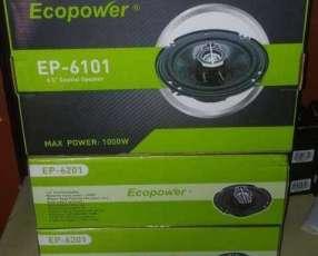 Parlantes Ecopower de 6 pulgadas