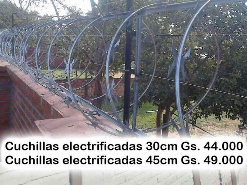 Cuchillas tipo arpón electrificadas - 0