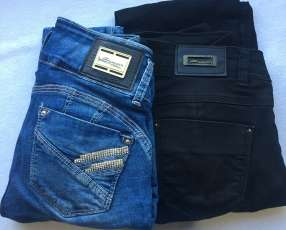2 Jeans Sawary talle 38