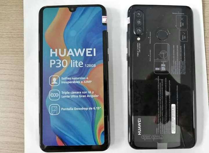 Huawei p30 lite - 2