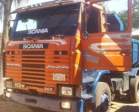 Tumba Scania doble eje