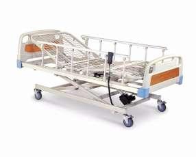 Cama hospitalaria de tres movimientos con colchón incluido