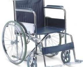 Silla de rueda cromada estándar