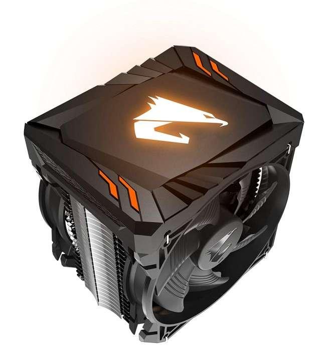 Cooler p/cpu gigabyte atc700 rgb thermal 120mm - 0