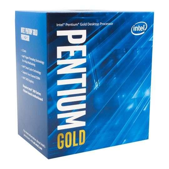 CPU Intel 1151 Pentium gold g5400 3.7 ghz/4m - 0