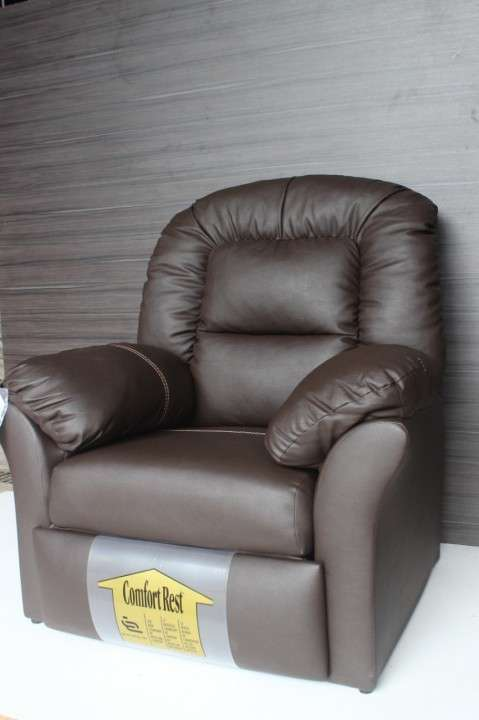 Sofá Ecoleather reclinable - 1