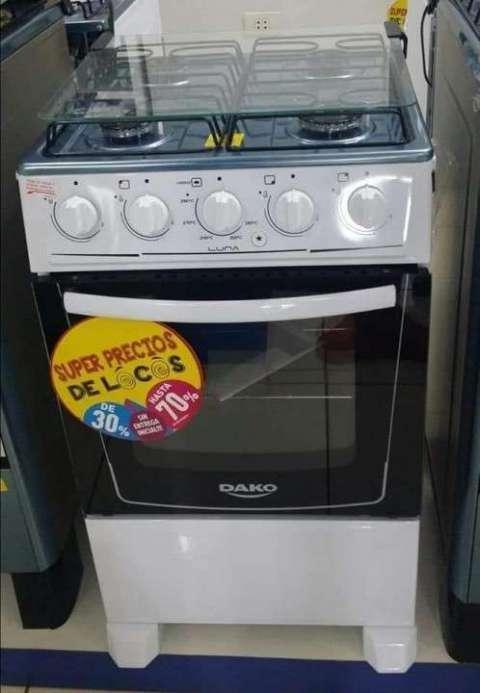 Cocina Dako Luna 4 hornallas encendido eléctrico - 0