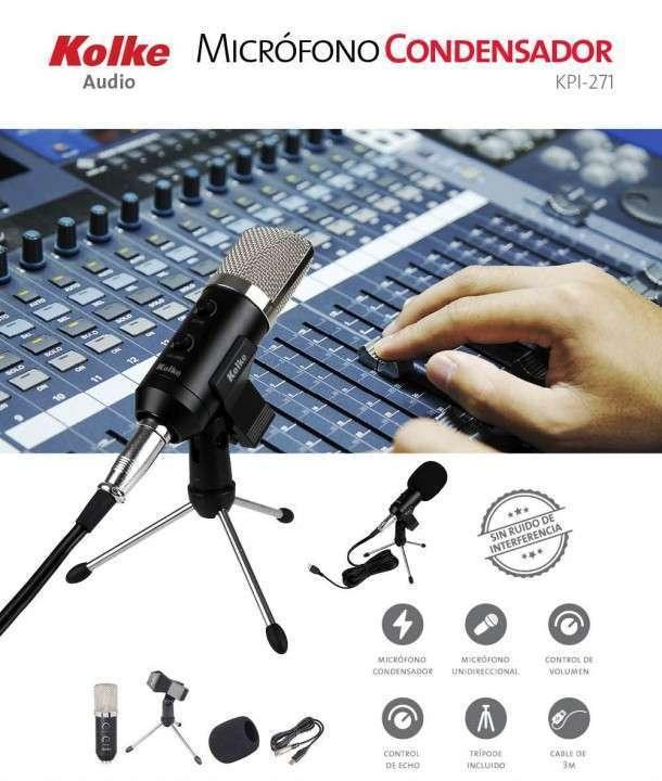 Micrófono condensador para estudio Kolke 271 - 0