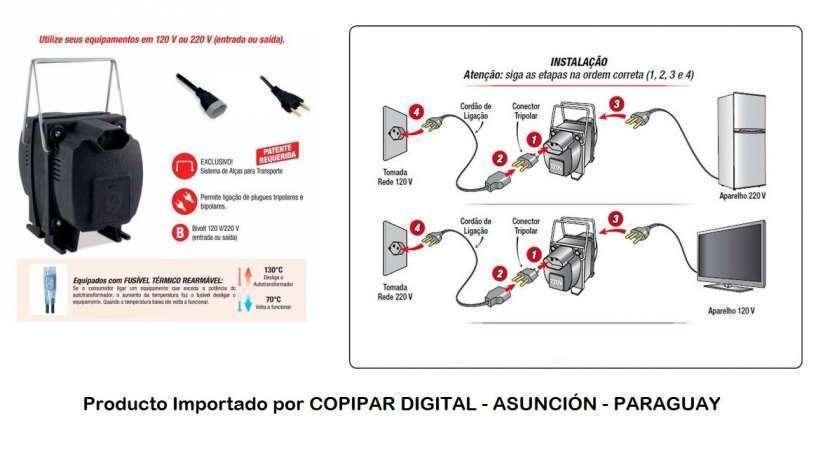 Transformador de corriente de 220v a 110v - 0