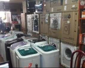 Lavarropa automática y semi automática