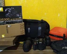 Camara Nikon D-5300+Lente 55-300 un kit completo