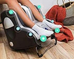 Masajeador shiatsu de piernas con infrarrojo