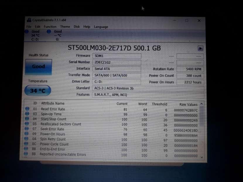 Disco duro 2.5 de 500 GB - 2