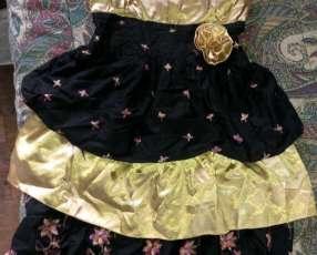 Vestido de fiesta para niñas y damas