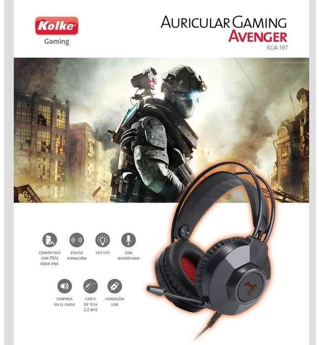 Auricular Kolke gamer avenger pro