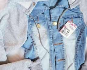 Camperita de jeans