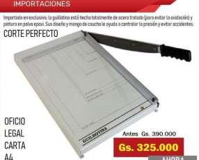 Guillotinas Cortadora de papel
