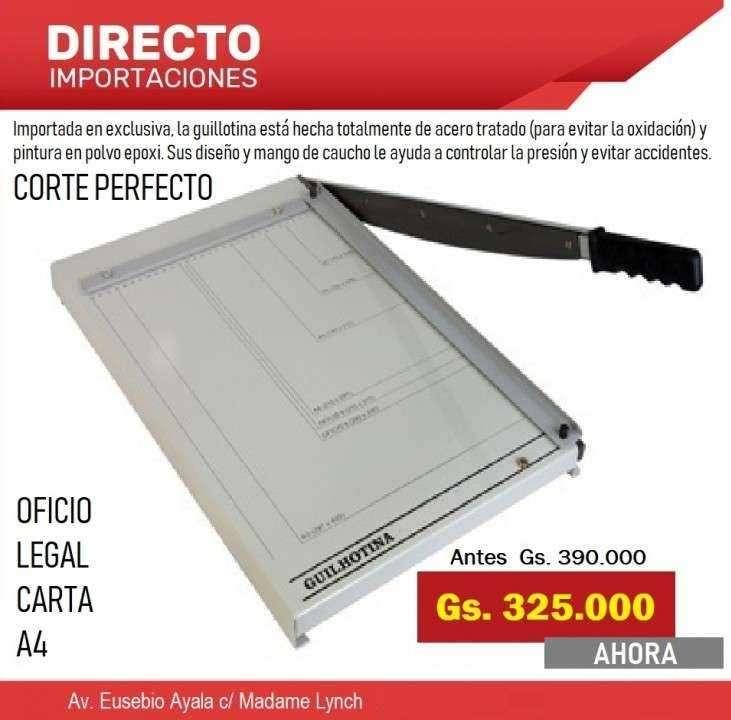 Guillotinas Cortadora de papel - 0