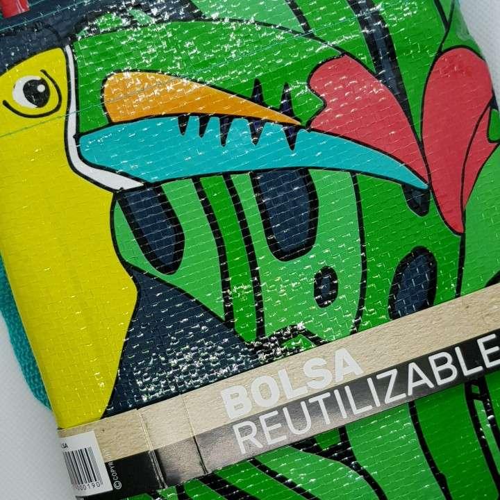Bolsa reutilizable de tucán