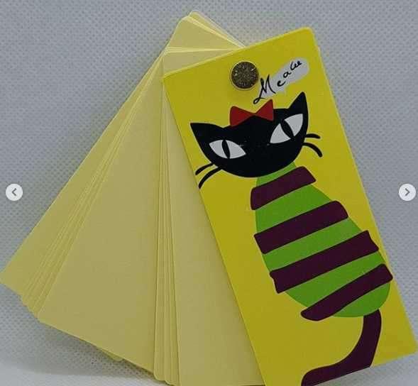 Libretita post it de gatito