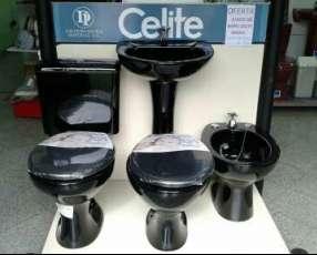 Juego de baño Celite negro