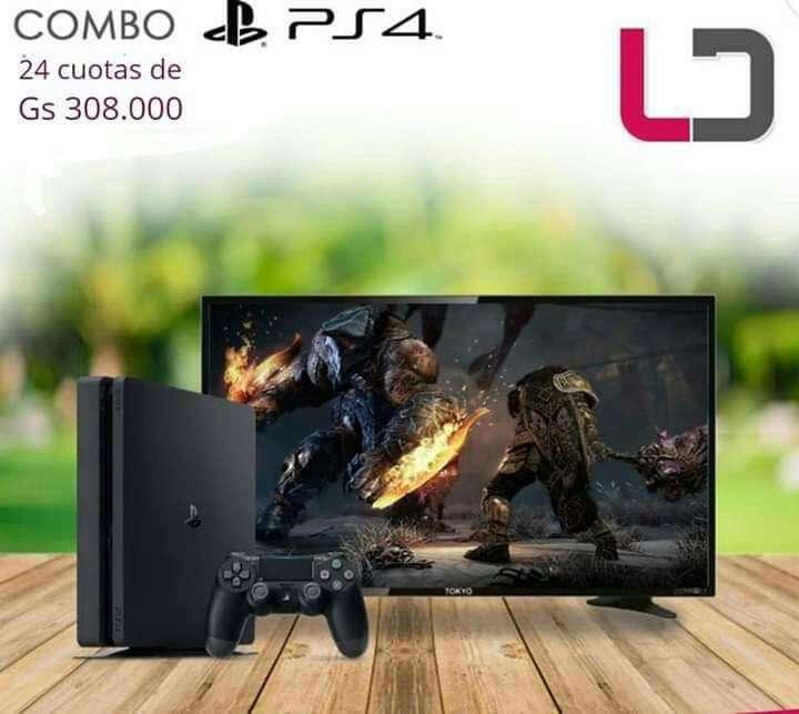 PS4 con TV - 0
