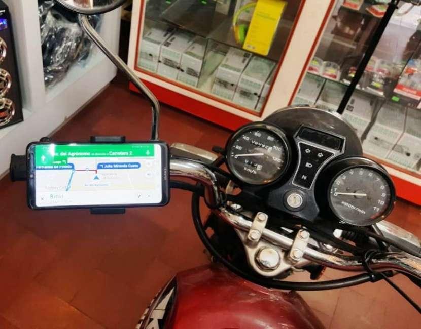 Soporte de celular para moto - 1