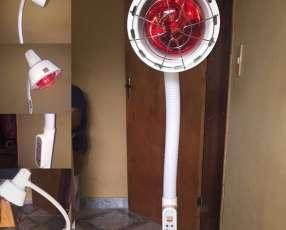 Lámpara de infrarrojos de 275 watts con pedestal y cabezal