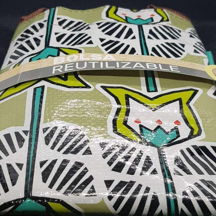 Bolsa reutilizable con diseño de cala