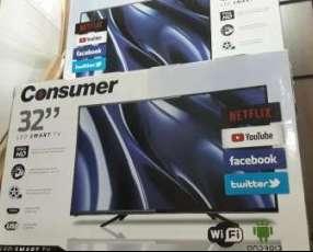 TV LED Smart Full HD Consumer de 32 pulgadas