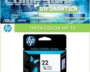 Tinta Hp 22 color