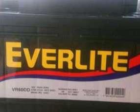 Baterías Everlite Everstart y Rocket