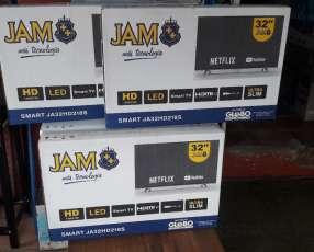 TV LED Smart JAM HD de 32 pulgadas