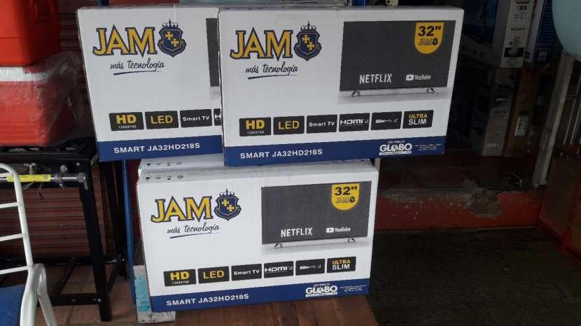 TV LED Smart JAM HD de 32 pulgadas - 0