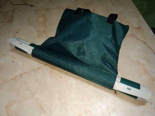 Ajedrez con tablero enrollable y piezas de plástico - 1