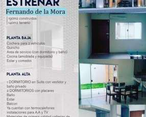 Duplex a estrenar en Fernando de la Mora