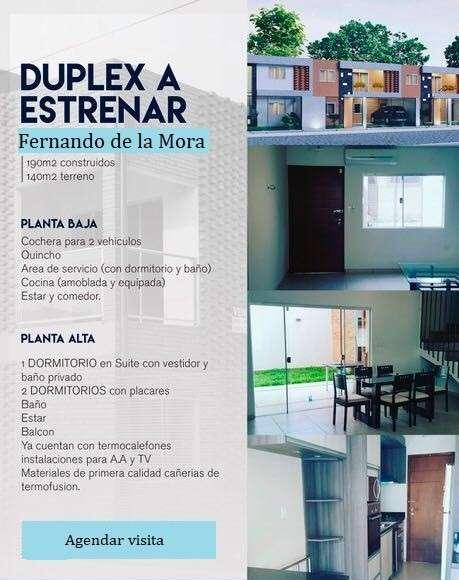 Duplex a estrenar en Fernando de la Mora - 0