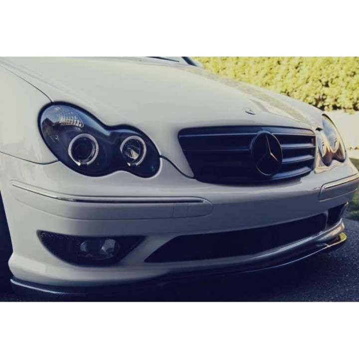 Faros con ojo de ángel para Mercedes w203 c230 c240 c220 - 1