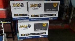 TV LED Smart JAM HD de 32 pulgadas