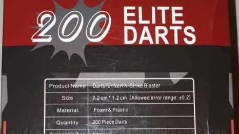 200 Balas de Nerf - 0