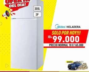 Heladera Midea 300 lts