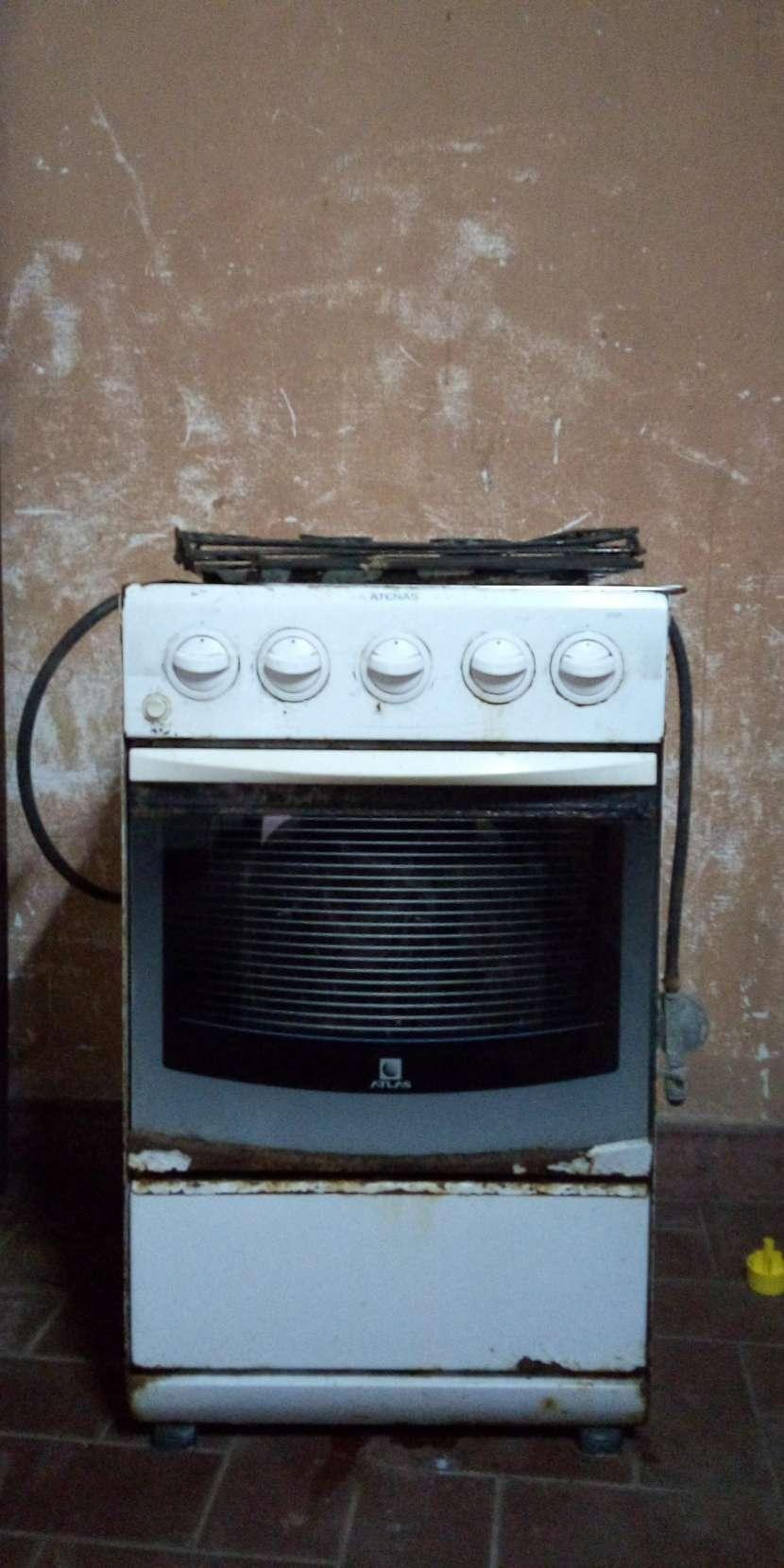 Cocina con hornallas de acero - 0