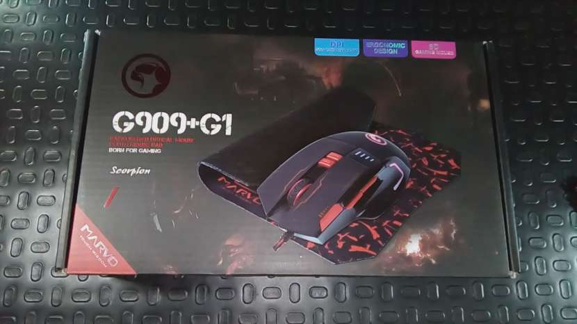 Mouse con MousePad Gamer RGB Backlit!!! Nuevo!!! - 3