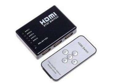 HDMI Splitter 5x1 con control - 0