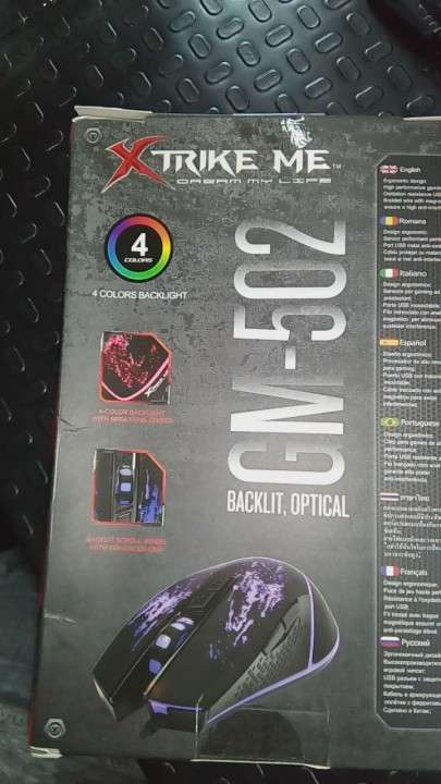 Mouse Gamer Backlit RGB!!! Nuevo!!! - 6