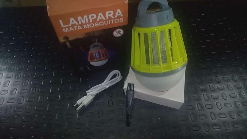 Lampra MataMosquitos a Bateria!!! Nuevo!!! - 6